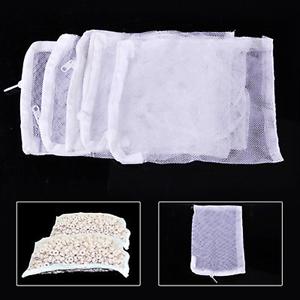 Lots-Nylon-Aquarium-Fish-Tank-Pond-Filter-Media-Zip-Mesh-Net-Food-Zipper-Bag