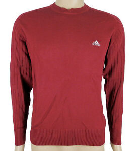 adidas pullover weinrot