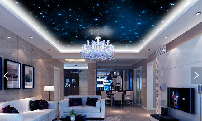 3D Night Starlight 7 Ceiling WallPaper Murals Wall Print Decal Deco AJ WALLPAPER