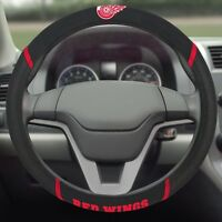 Detroit Red Wings Embroidered Steering Wheel Cover