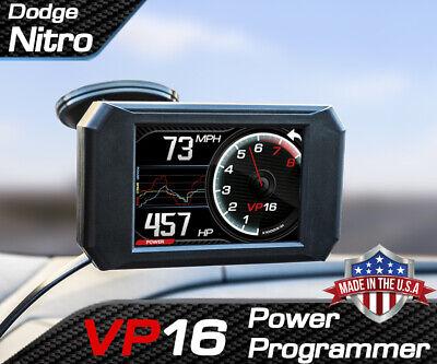 High-Performance Tuner Chip /& Power Tuning Programmer Fits Dodge Nitro Boost Horsepower /& Torque!
