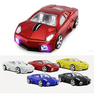 Gift-1600DPI-Optical-2-4Ghz-Lamborghini-car-Wireless-Mouse-PC-Mice-USB-Receiver