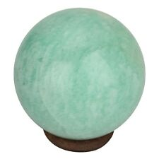 Amazonite Sphere Ball Reiki Healing Stone Table Décor Natural Stone Gift 55-60MM