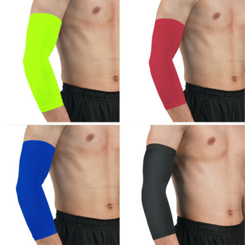 Arm Sleeve Solid Color Sports Elbow Pads Protective Gear Outdoor Basketball