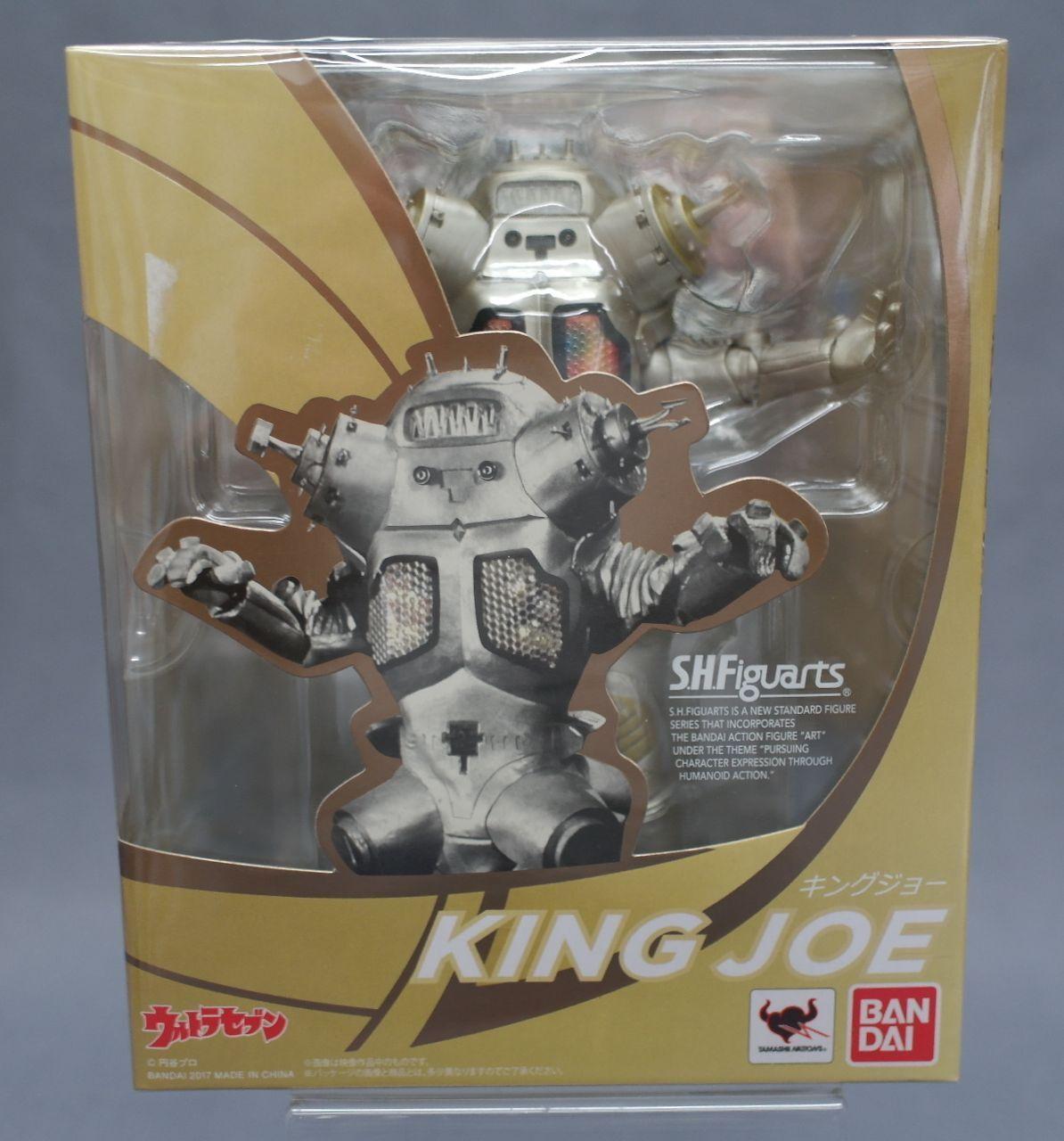 SH S.H. Figuarts King Joe Ultra Seven Seven Seven Bandai Japan NEW a40e06