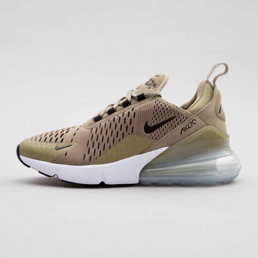 Nike Air Max 270 GS kids 4 5 6 7 8 9 Femme Garçons Olive Vert Kaki AH6789-200 .5- Chaussures de sport pour hommes et femmes