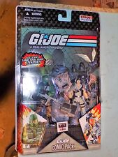 GI JOE 2008 COMIC 2 PACK Beachhead & Dataframe + COMIC inside MISP