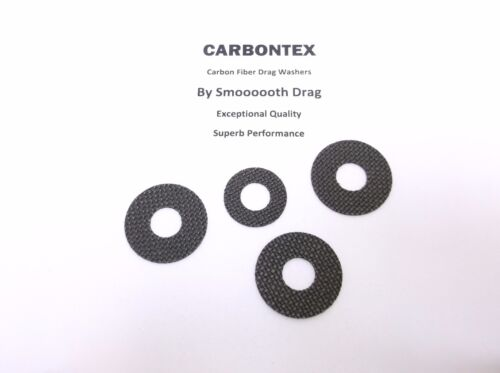 NEWELL REEL PART 540 5.5 Smooth Drag Carbontex Drag Washers #SDN1 4