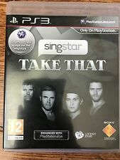 SINGSTAR ~ TAKE THAT ~  Karaoke Singing Video Game / Sony PlayStation 3 PS3