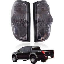 Tail Rear Led Light Lamp Smoke Black Lens Mitsubishi L200 Triton Ml Mn 2005-2014