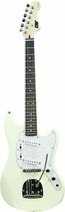ivy-ISMF-200-VW-Strat-Solid-Body-Electric-Guitar-Vintage-White-think-MUSTANG