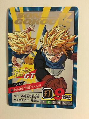 Dragon ball GT Super battle Power Level 797