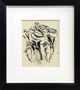 "Willem DE KOONING Lithograph ORIGINAL Ltd.EDITION ""America"" w/Frame"
