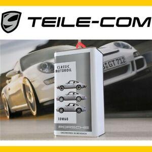 ORIG-Porsche-Classic-Motoroel-Motoroil-5L-10W-60-fuer-964-993-u-911G-ab-3-0L-Motor