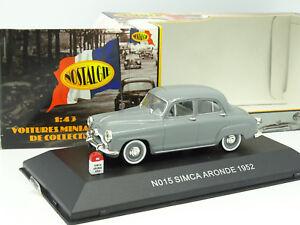 Nostalgie-1-43-Simca-Aronde-1952-Grise