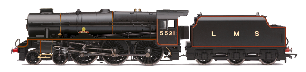 Hornby R3614 Patriot Class 4-6-0 LMS No: 5521 Rhyl OO Gauge