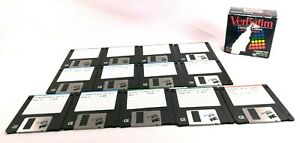 13-pack-Verbatim-DataLife-Colors-Double-Density-3-5-1-44MB-Floppy-Disks-Windows
