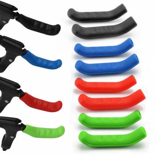 Pro Mountain Bike Lever Cover Handlebar Grip Brake Silicone Protector Practical