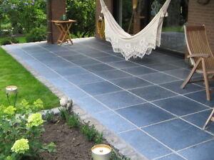 blaustein 40x40 natursteinplatten naturstein platten. Black Bedroom Furniture Sets. Home Design Ideas