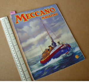 1939-Home-Front-Meccano-Magazine-Boys-Hobby-amp-Craft-Projects-Engineering-News