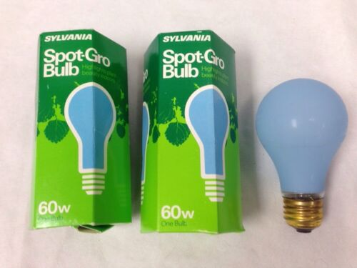 Sylvania Agro Lite Plant Light 60 Watt 60A19//GROW # 12880 Plant Aquarium 2-pcs