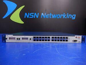 Riverstone-Networks-E50-B-ES-500-24-Port-Switch-w-2x-E50-GBC-01-Uplink-Modules