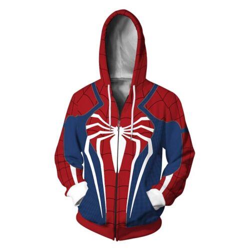 Spiderman Superheld Paar Hoodie Sweatshirt Kapuzenpullover Pulli Sweatjacke Tops