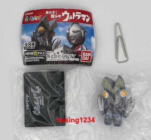 Bandai Ultraman Collechara 1 Our Core Characters Gashapon Figures set of 8 Gaia