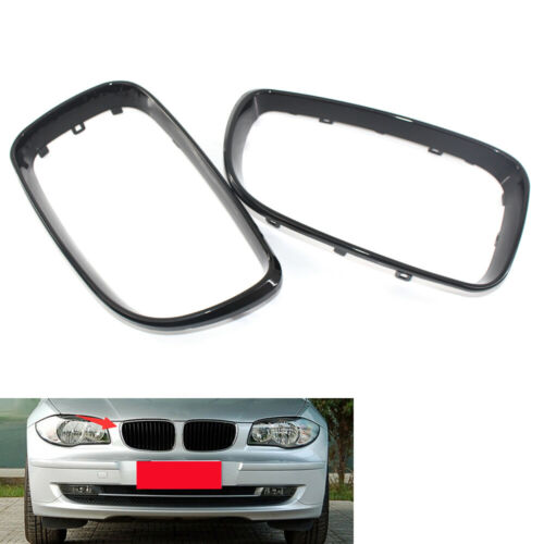 2x Kühlergrillblende für BMW 1er E81 E82 E87 E88 2008-2011