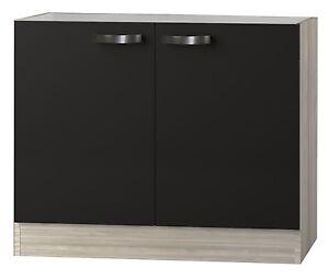 kult faro sp lenschrank 100cm breit anthrazit splo106 ebay. Black Bedroom Furniture Sets. Home Design Ideas