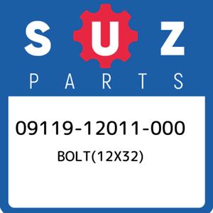 09119-12011-000-Suzuki-Bolt-12x32-0911912011000-New-Genuine-OEM-Part
