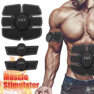 Muscle-Toner-and-Abs-Stimulator-EMS-Abdominal-Trainer-Electronic-Wireless-New