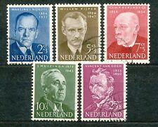 Nederland  612 - 616 gebruikt