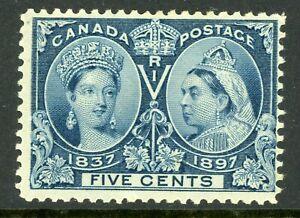 Canada-1897-Jubilee-5-Scott-54-Mint-C11
