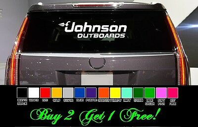 """Evinrude Outboards RED 11/"""" vinyl sticker decal lake truck boat fishing lake"""