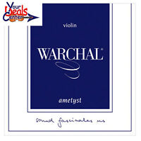Warchal Ametyst Violin String Set 1/4   E Ball  End