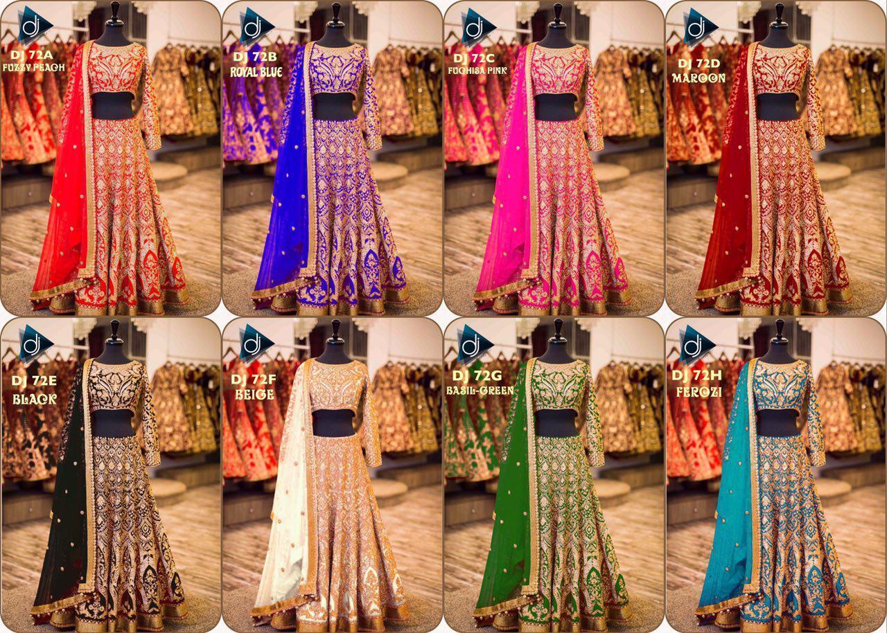 Banglori Designer Party Wear Bridal Lehenga Choli Bollywood Lengha Wedding Dress
