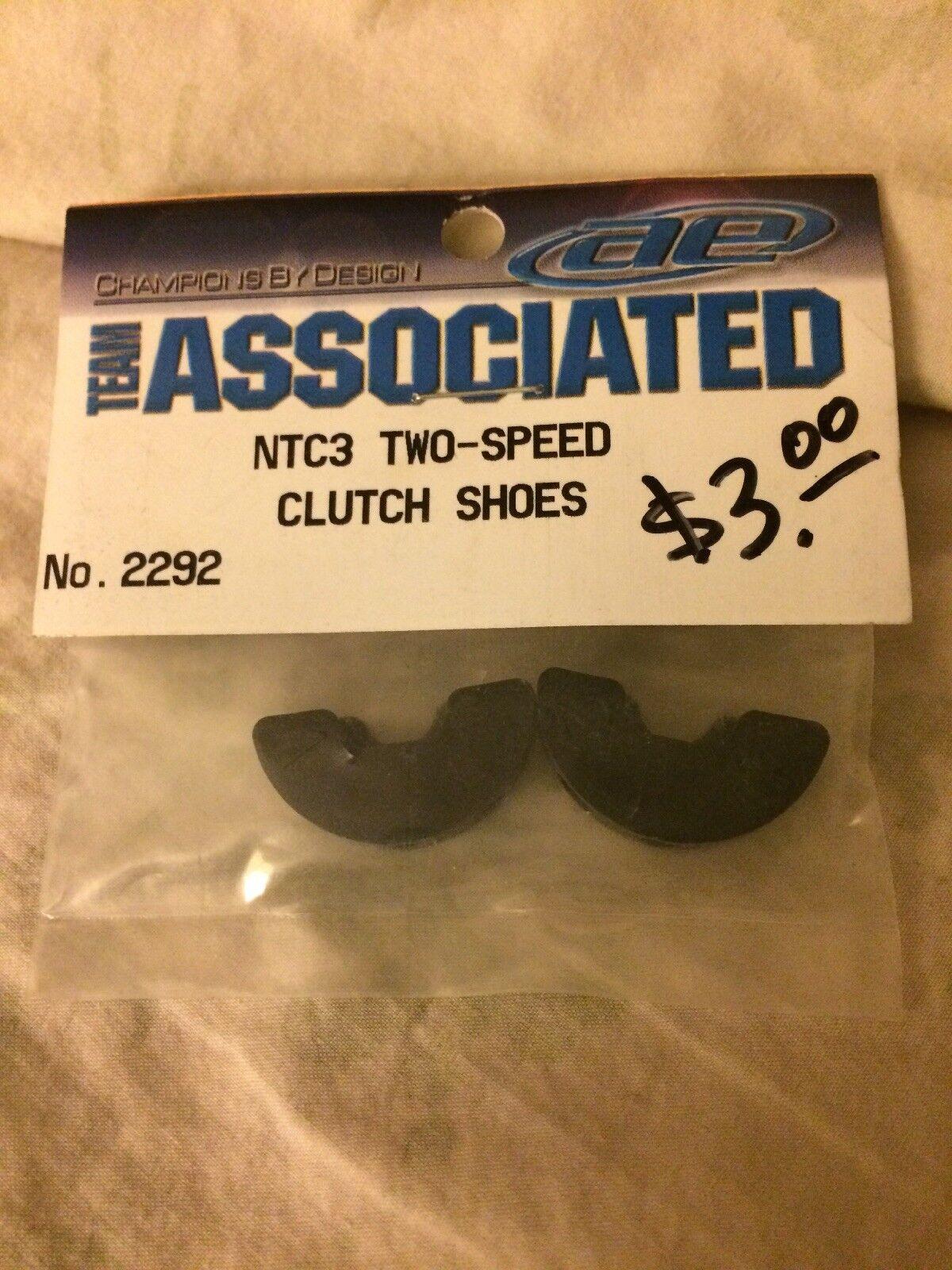 GT2 Clutch Shoes 2310 Associated NTC3