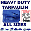 ALL-Sizes-Of-Heavy-Duty-Tarpaulin-Cover-Ground-Camping-Sheet-BUNGEE-BALLS thumbnail 1