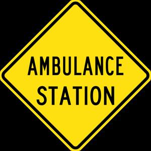 AMBULANCE-STATION-W5-37-SELF-ADHESIVE-STICKER-DECAL-SIGN-HEALTH-amp-SAFE