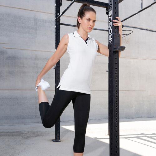 Sleeveless Polo Shirt KK730 Gamegear Women/'s Proactive Sports Training Polo