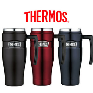 Details about Thermos Stainless King Travel Mug Leak Proof Vacuum Insulated  0 47L