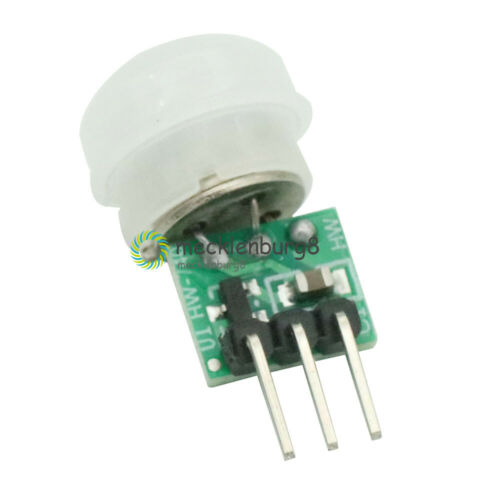 5PCS AM312 Mini IR Infrared Pyroelectric PIR Motion Body Human Sensor Detector