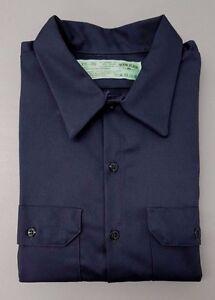 050719d6 Red Kap SC70CH2 Men's Deluxe Heavyweight Cotton Shirt, Charcoal, XXL ...