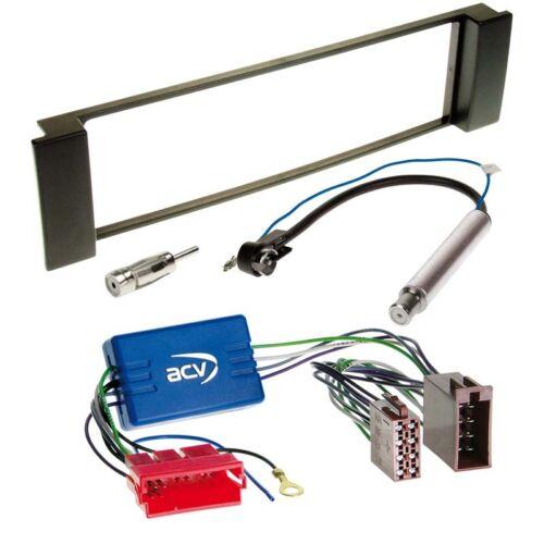 radio diafragma negro adaptadores Audi a3 8l 00-03 radio del coche Kit de integracion cable