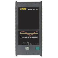 Aemc Pel 102 Basic 213761 Power Amp Energy Logger 1 2 Amp 3 Phase