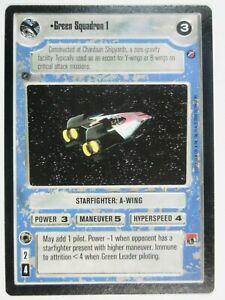Gold Squadron 1 2000 Death Star II BB Limited Decipher Star Wars CCG NM//SP x1