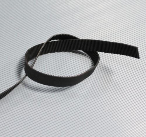 Meterware RepRap Prusa Mendel CNC GT2 Zahnriemen 10mm schwarz