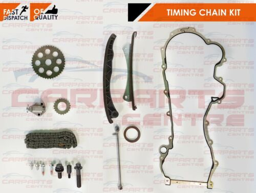 Para Citroen Nemo Peugeot Bipper 1.3 HDI 75 2010 Kit de la cadena de distribución Cabeza Junta