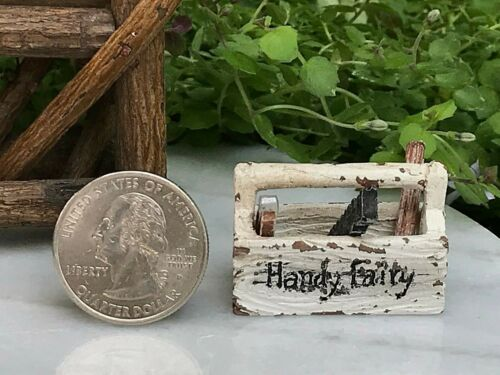 Miniature Dollhouse Mini GARDEN Accessories ~ Handy Fairy Tools Tool Set ~ NEW